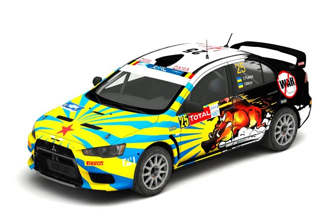 Mitsubishi Evo X (ver. 1.2) Vitaliy Pushkar fixed by arecer